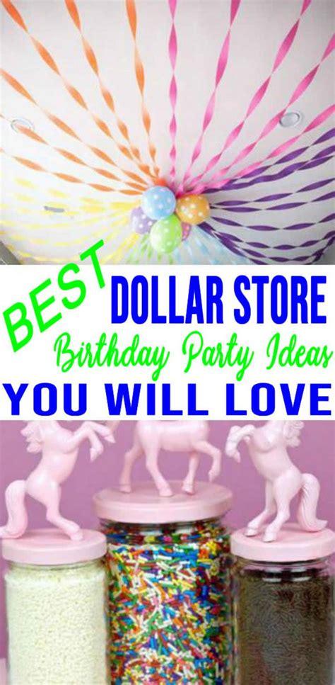 dollar store birthday party ideas easy dollar store hacks  diy crafts    party