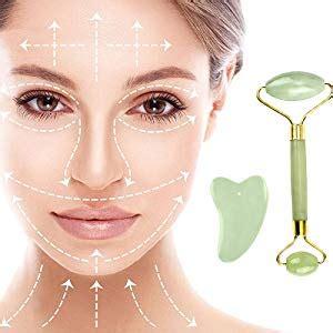 Amazon.com: Jade Roller & Gua Sha Board for Face, Facial