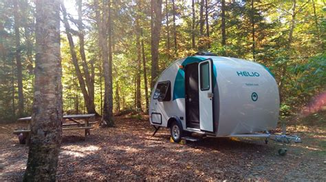 top  small camping trailers  bathrooms  nature calls