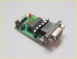 Mini Rs232 To Ttl Converter Adaptor Module Board Max3232