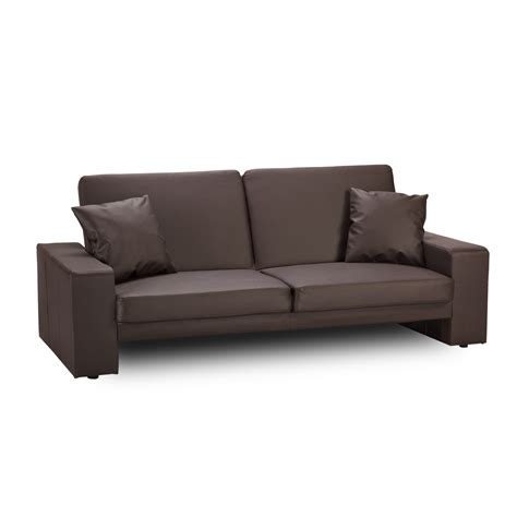 brown leather sofa bed cuba leather sofa bed brown sofabedsworld