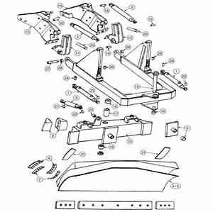 John Deere Dozer Blade Parts  450  450b  450c  450d  450e