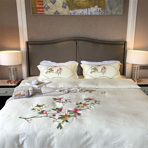 2017 embroidery size bed linen elegance bedding