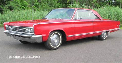 1966 Chrysler Newport 2-dr Hardtop - my mother's was ...