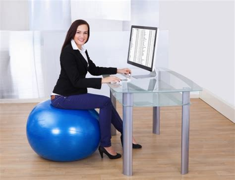 fitness in the office work and burn calories top me