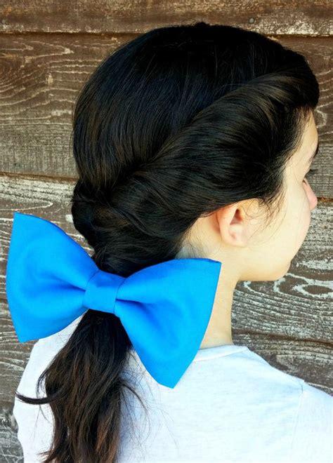 belle beauty   beast large blue hair