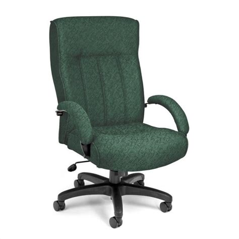 executive high back office chair in green 710 2339