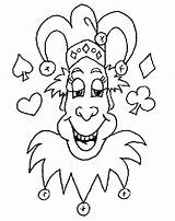 Joker Coloring Clown Jester Colouring Absolute1 Characters Drawing Sheets Printable Drawings Happy Draw Ebooks Self Getdrawings Popular Coloringhome sketch template