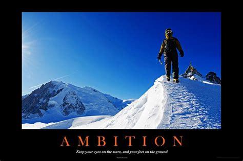Ambition Motivational Poster - 36x24 - Walmart.com ...