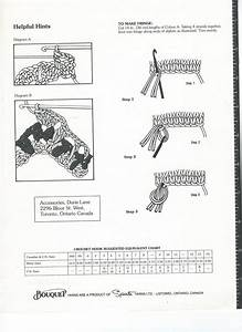 Diagrams For The Lacy Chevron Afghan Pattern