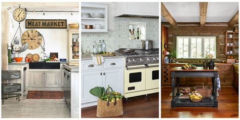 country home kitchen ideas 18 farmhouse style kitchens rustic decor ideas for kitchens