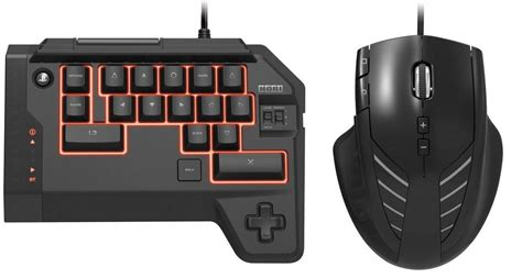 play fps in playstation 4 with a mini keyboard and mouse