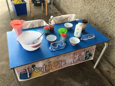 A Dramatic Play/science Area For Students To Use Water And