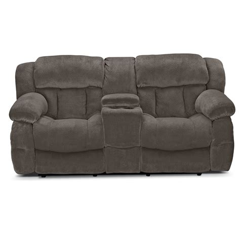 microfiber reclining sofa with console reclining loveseat with console microfiber home design ideas