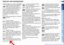 Bmw Symbols On Dashboard Series Dashboard Light Bmw Car Club - Bmw car signs warning