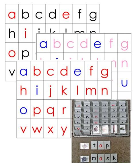 moveable alphabet lots  wallet friendly