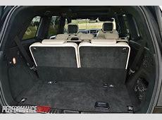 2013 MercedesBenz GL 63 AMG minimum cargo space 300L