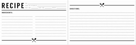 cookbook templates create   recipe book word