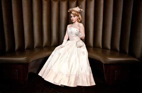 Vintage Inspired 1950s Wedding Dresses By Lindsay Fleming