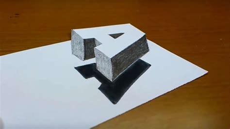 3d Zeichnen by Des Tages Wie Einen Buchstaben Ganz Einfach In