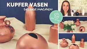 Vasen Selber Machen : vasen gestalten deko ideen diy upcycling deko ~ Lizthompson.info Haus und Dekorationen