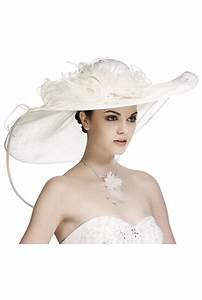 Chapeau Anglais Femme Mariage : l gant chapeau de mari e en blanc ou cru bijoux chapeaux et accessoires de mariage 2015 ~ Maxctalentgroup.com Avis de Voitures