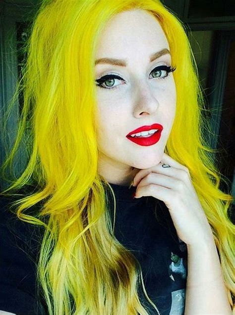 847 Best Yellow And Orange Hair Images On Pinterest