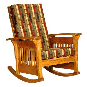 rocking chair design amish made rocking chairs model