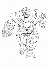 Thanos Coloring Colorear Coloriage Avengers Dibujos Marvel Colouring Colorier Fortnite Kolorowanki Coloriages Dibujar Enfants Dzieci Printable Dla Imprimer Super Siluetas sketch template
