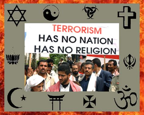 terrorists are not religious africa answerman