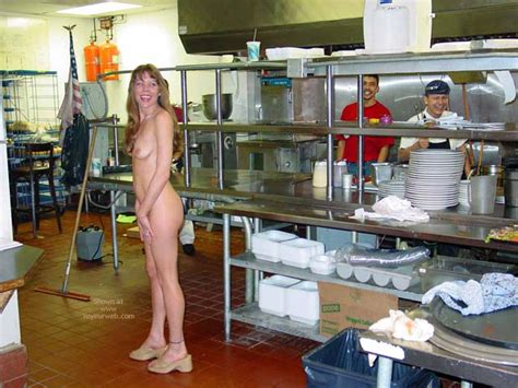 Nude In Kitchen April Voyeur Web Hall Of Fame
