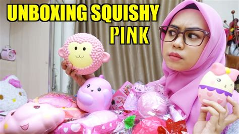unboxing squishy pink ria ricis youtube