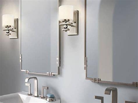 Brushed Nickel Bathroom Mirror by 15 Photo Of Brushed Nickel Wall Mirror For Bathroom