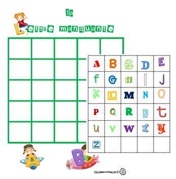 jeux pour apprendre a cuisiner la lettre manquante alphabet lettres cp ce1 gs lire