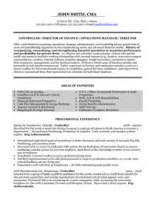 accounting controller resume exles financial controller resume template premium resume sles exle