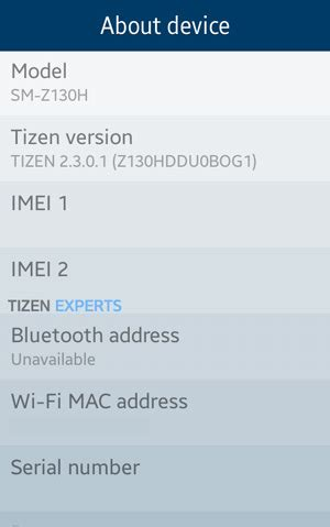 firmware samsung z1 software update released for india z130hddu0bog1 ind iot gadgets