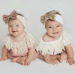 Identical Twin Baby Girls