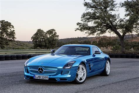 Picture Mercedes-benz 2012 Sls Amg Electric Drive Luxury