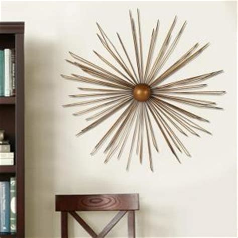 modern starburst metal wall decor dn