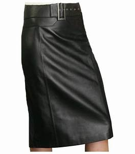 Jupe Crayon Noir : jupe longue cuir avec ceinture boucle m tallique agneau plong noir ibena haut de gamme existe ~ Preciouscoupons.com Idées de Décoration