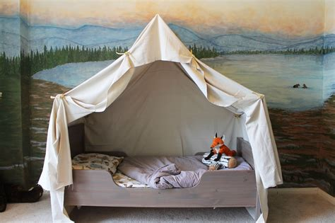 Toddler Bed Tent Canopy by The Ragged Wren How To Cing Tent Bed