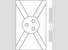 Burundi Flag Coloring Page Download Free Burundi Flag