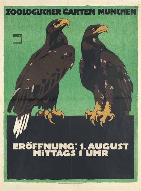 Zoologischer Garten Price by Ludwig Hohlwein 1874 1949 Zoologischer Garten M 220 Nchen
