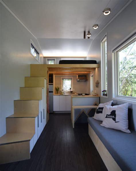 tiny house interior images couple s finished diy shedsistence tiny house