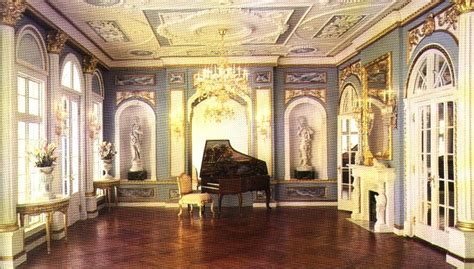 These Are Miniature Reproductions Of Existing Rooms And A