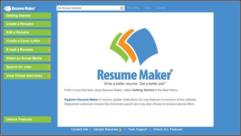 Resume Maker Software by Resume Maker Software For Windows 10 Resume Resume