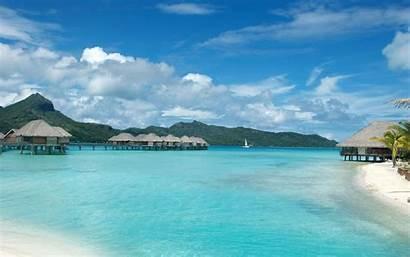 Bora Island Islands Wallpapers Desktop Resort Widescreen