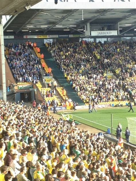 Snapshot: Wigan's Slightly Quaint Away Support At Norwich ...