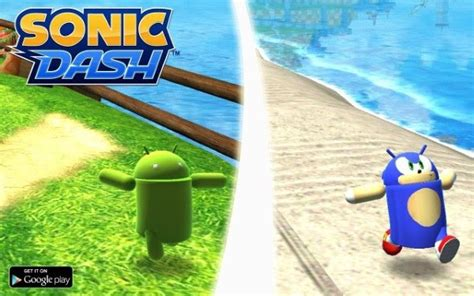 android dash sonic dash adds exclusive unlockable andronic character