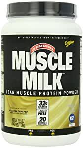 Amazon.com: Muscle Milk Graham Cracker, 2.47 lb.: Health
